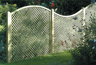 Diamond Lattice Panel