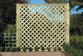 Square Heavy Diamond Lattice Panel